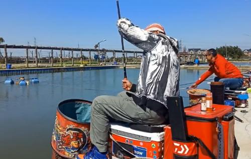 钓鲤鱼黑坑饵料状态